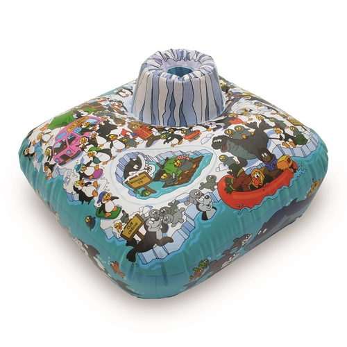 BathBuoy Penguin Island - Save Up To 30 at Litres at Bathtime
