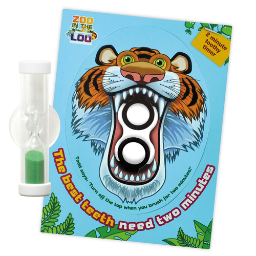 Tiger Toothy Timer - Two Minutes For The Best Teeth