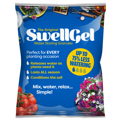 Water Saving Gel - Reduce watering needs of your plants by up to 4 times