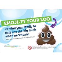 Emoji-fy Your Loo Sticker